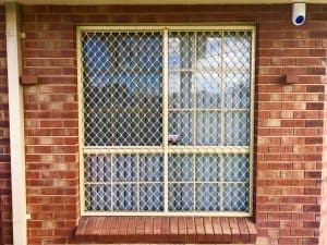 window grill - diamond
