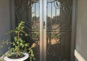 decorative security door