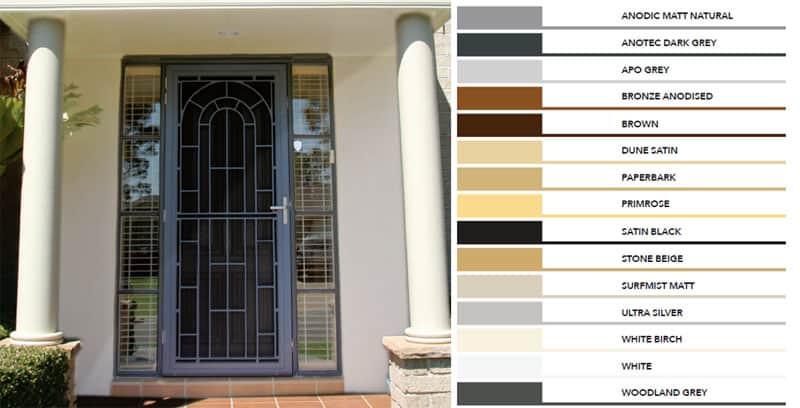 Decorative door Colours Rockingham Mandurah Baldivis
